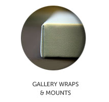 Gallery Wraps and Mounts