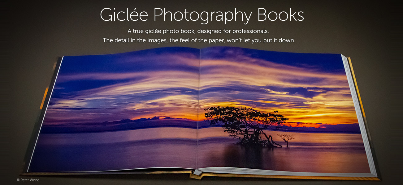 Professional Giclée Photography Books | First Edition Print